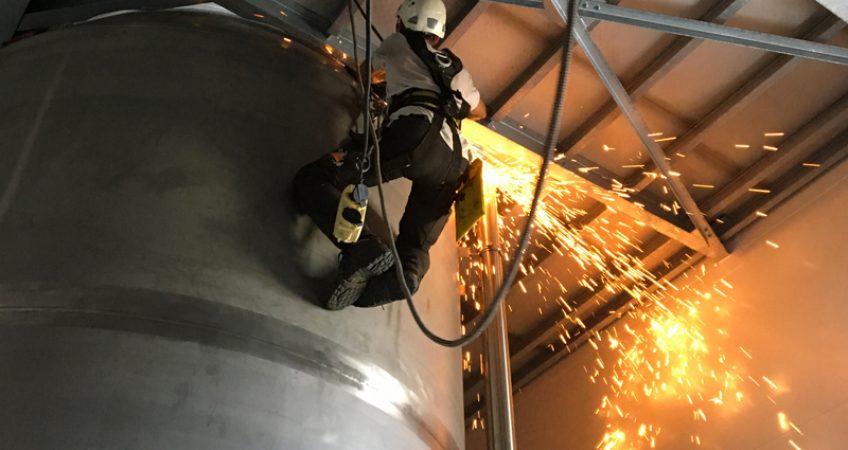travaux sur corde industrie travaux en hauteur